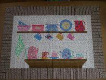 Cup & saucer/Paper Pieced Quilt