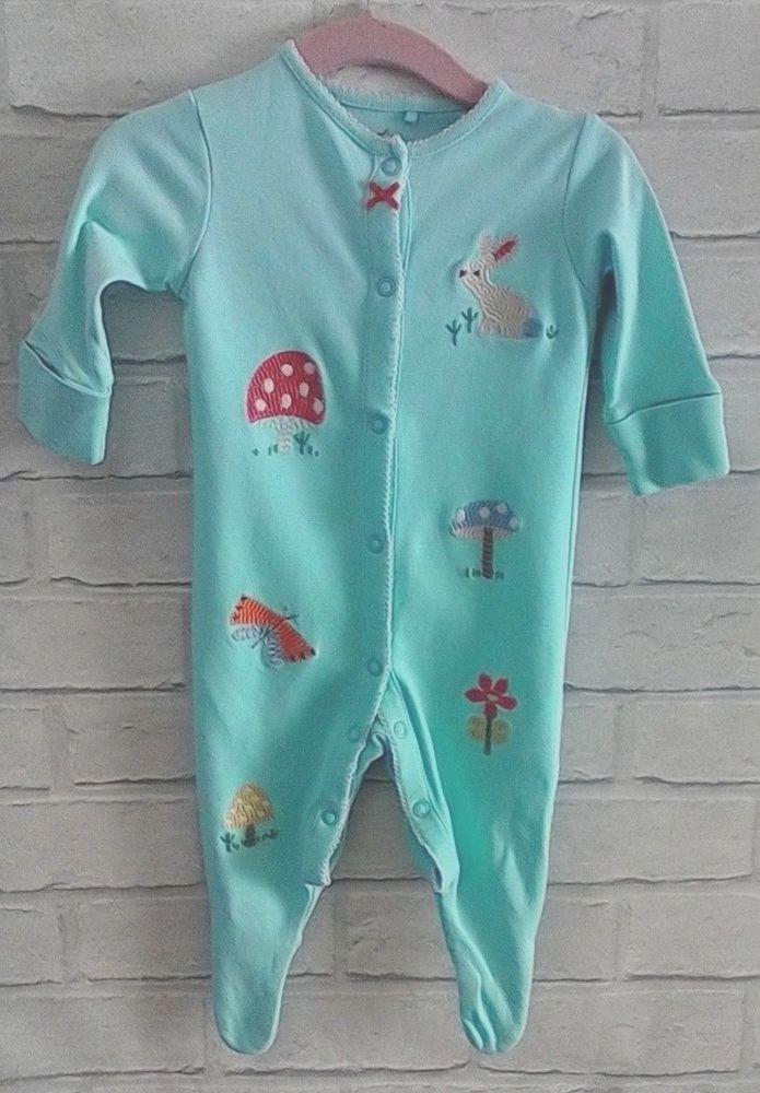 90357b9d4 Next Baby Girls Embroidered Sleepsuit 0-3 months  NEXT