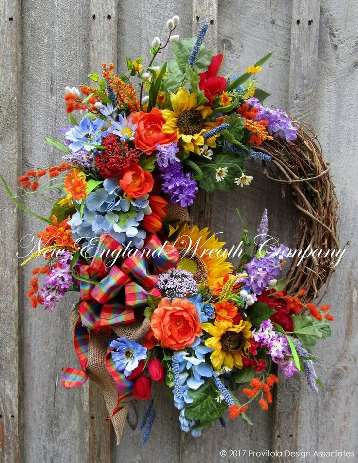 Cohasset Country Garden Wreath