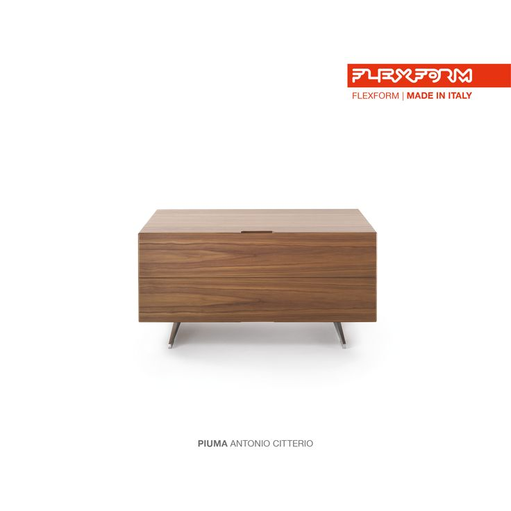 #FLEXFORM PUMA bedside table #design Antonio Citterio