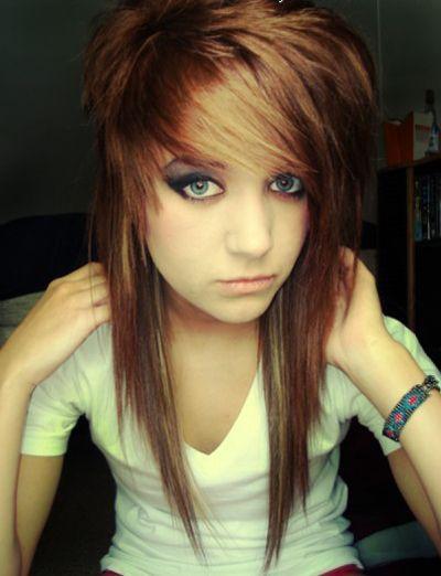 Best Medium Scene Hair Ideas On Pinterest Medium Emo Hair - Emo girl hairstyle video