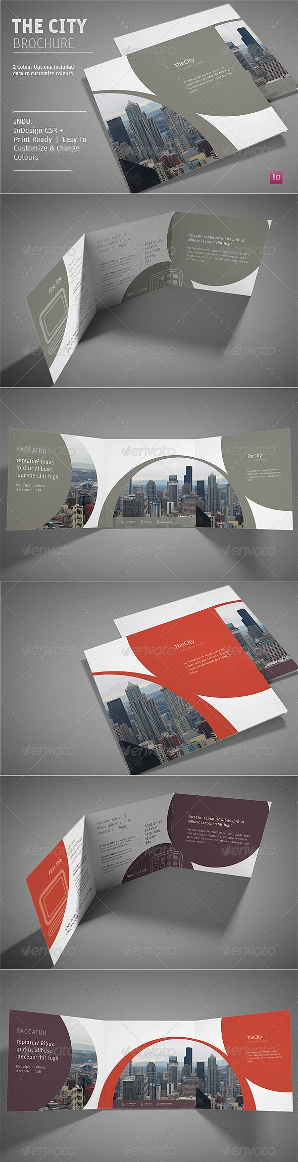 The City Brochure - GraphicRiver Item for Sale