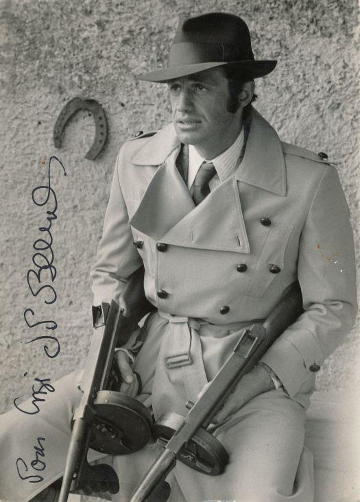 "Jean Paul Belmondo as Francois Capella in "" Borsalino "" 1970"