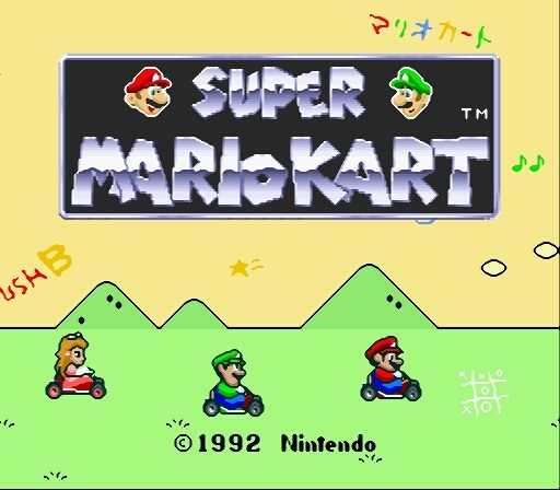 Super Famicom Super Mario Kart on the RetroN5 System SMOOTH FILTER   #Retron5 #Videogamesnewyork #Retron5ScreenShots #Hyperkin