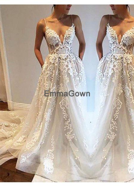 46c692aeeaf Emmagown 2019 Beach Wedding Dresses T801524714695
