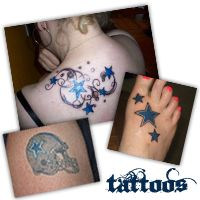Dallas Cowboys Tattoo Designs | have Cowboy-tattooed friends, and even some who name their children ...