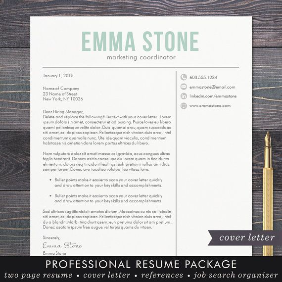 Best 25+ Free cover letter ideas on Pinterest Free cover letter - free creative word resume templates