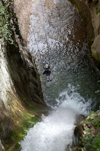 Hiking + Waterfalls Lake Garda