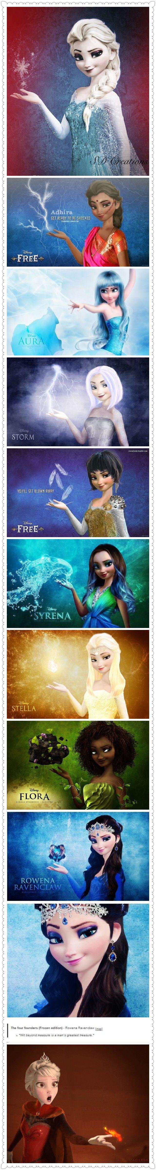 Frozen~ different Elsa