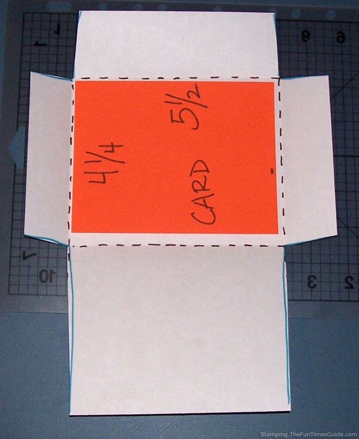 Easy Diy How To Make Custom Envelopes Of Any Size  Envelopes