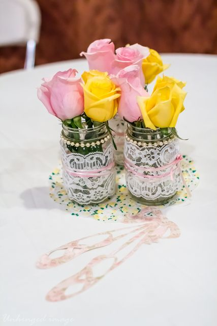 Sweet Ballerina 1st Birthday Party!  See more party ideas at CatchMyParty.com!  #partyideas #ballerina
