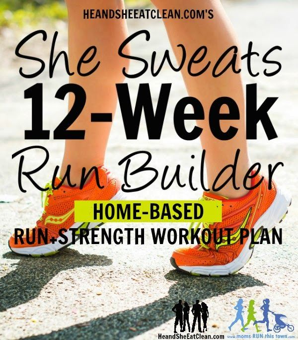Looking for a workout plan that TELLS you EXACTLY what to do and INCLUDES running and/or cardio? Check out the newest workout plan from HeandSheEatClean.com! This one is geared toward helping you build and maintain muscle while keeping your running shoes laced up. #heandsheeatclean #workoutplan #running #runner #challenge #fitness #workout #exercise