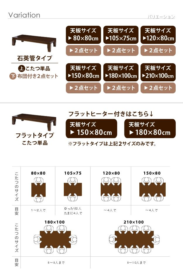 soei | Rakuten Global Market: Modern living kotatsu direct 105 x 75 cm kotatsu table rectangle made in Japan Japanese joint legs w