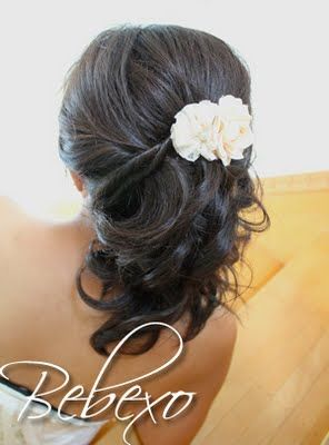 Bebexo Beauty Blog: Half Updo Hairstyle for Proms and Weddings