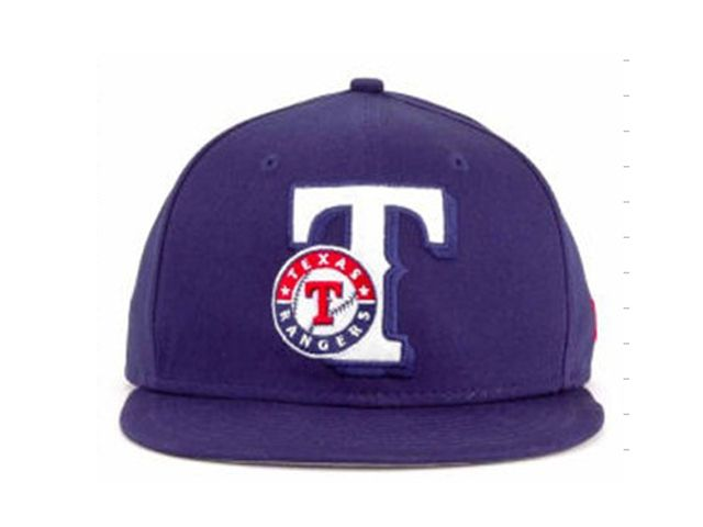 New Era MLB Texas Rangers Snapback Hats Caps Purple 4125! Only $7.90USD