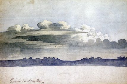 Cloud study by Luke Howard, c 1808-1811., Howard, Luke