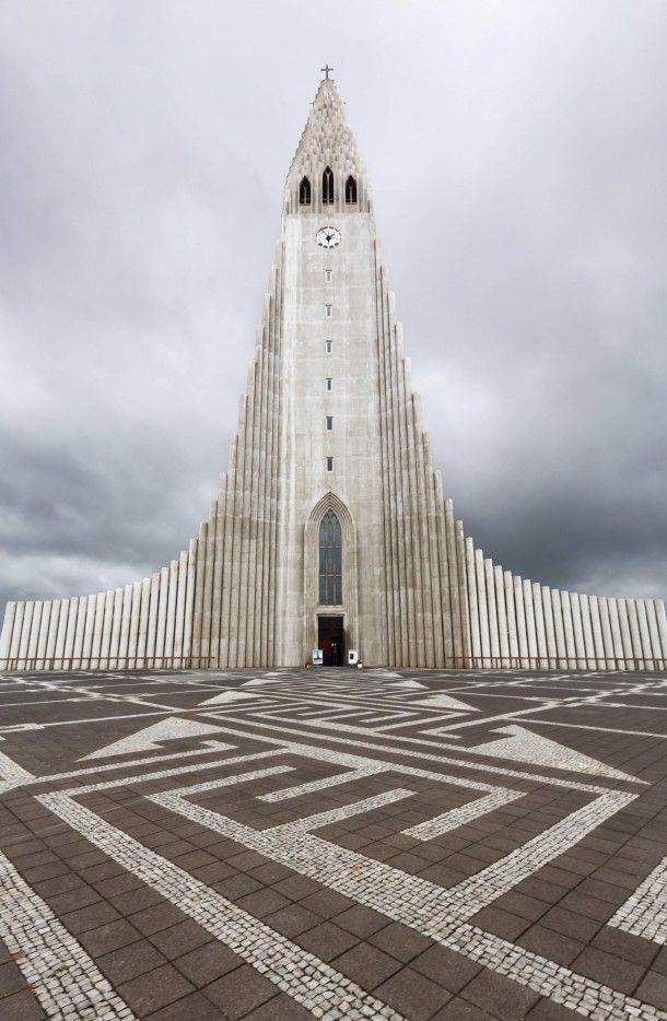 Amazing Architecture - The Hallgrímskirkja Church in Reykjavík, Iceland POWERFULLY JUMP START YOUR VEHICLE!!! Click http://www.amazon.com/gp/product/B00RZ1TKYE