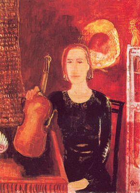 Bernáth Aurél hegedűművésznő 1930