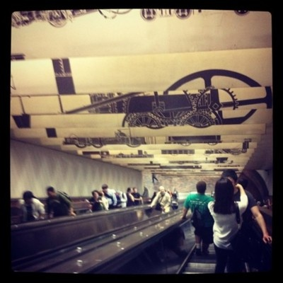 Porter Square T escalator #CambridgeMA - DiscoverPorterSquare.com: Porter Squares, Discoverportersquare Com Aka