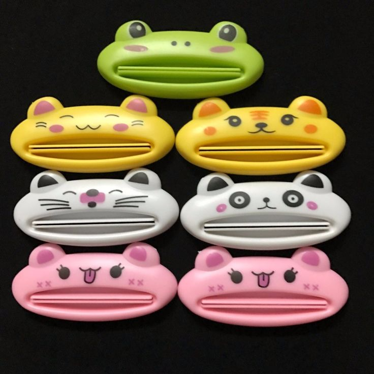 1 x Cute Animal Toothpaste Squeezer Dispenser Organiser travel tidy Kids #>=#>=#>=#>=#> Click on the pin to check out discount price, color, size, shipping, etc. Save and like it!