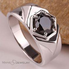 Cincin pria keren dan elegan dengan batu black onyx....#cincin #cincinkawin #cincinsingle #cincinpria