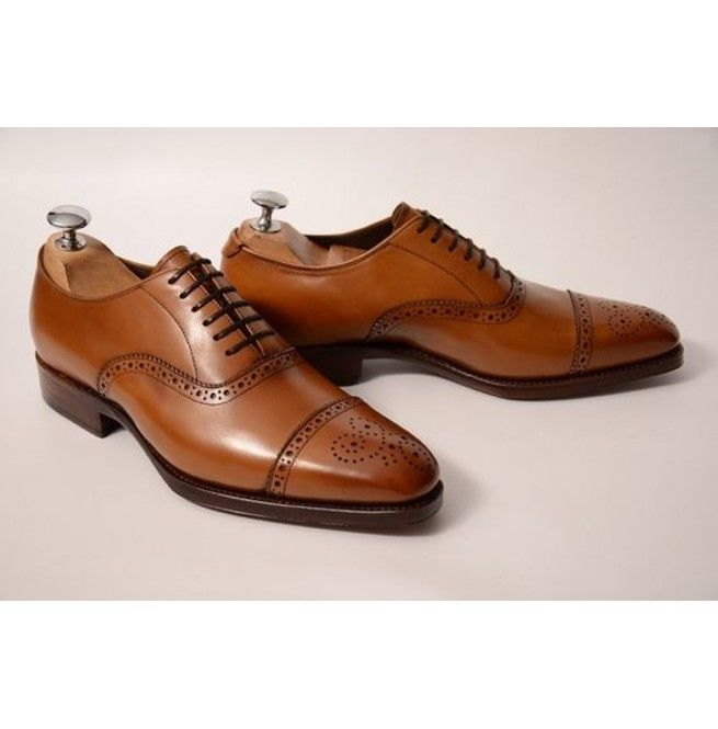 Men Formal Shoes, Men Brown Brogue Shoes, Men Dress Shoes Men brogue dress shoes - Dress/Formal