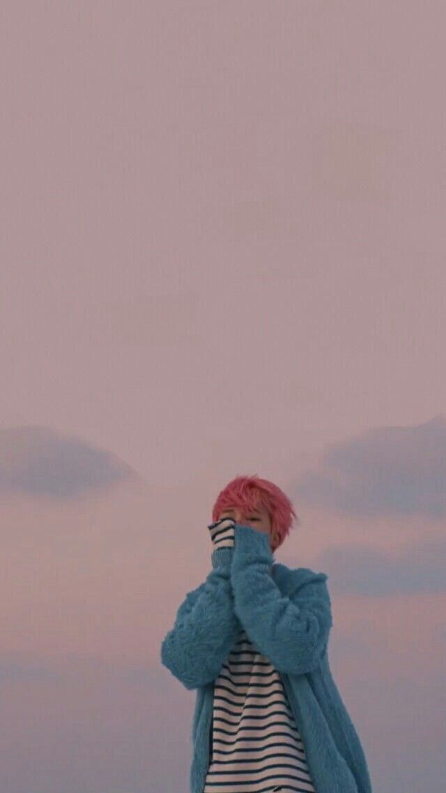 Pink Jimin Spring Day Wallpaper