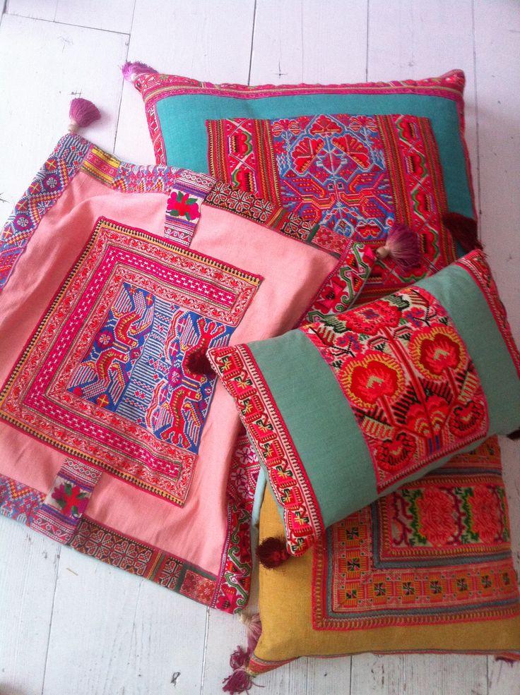 Chica bonita pillows at brechtje olsthoorn interiors
