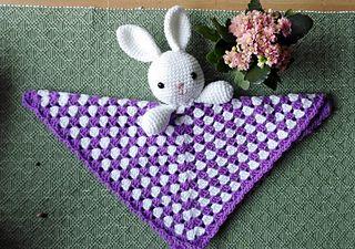 Ravelry: Bunny-lovey pattern by Katrine Tveito