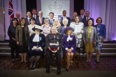 OLD Trafford-based World Mission Society Church of God members were 'overjoyed' to be bestowed with an award from the Queen for their positive contribution to the community. On Monday July 4, 10 representative members of the World Mission Society Church of God were invited to the historical Gorton Monastery in Manchester to receive the Queen's Award for Voluntary Service.