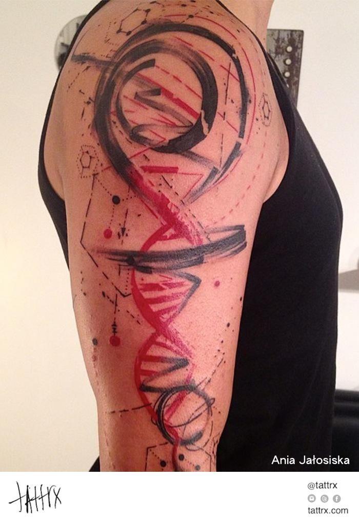 Ania Jałosińska - Abstract DNA