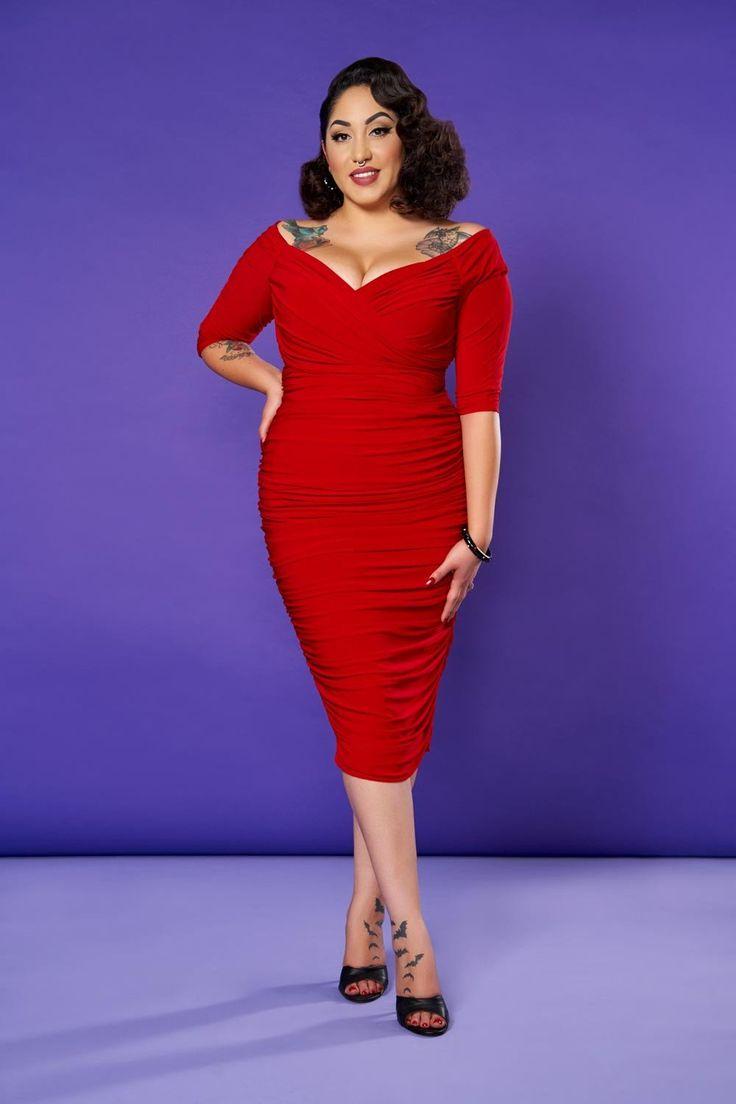 Mejores 80 imágenes de Red for Stacey en Pinterest | Vestidos largos ...