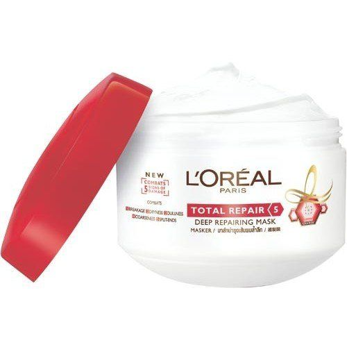 L'oreal Elseve Total Repair 5 Mask 200 Ml Made in Thailand by L'oreal Elseve Total Repair 5 Mask 200 Ml. $59.00. L'oreal Elseve Total Repair 5 Mask 200 Ml