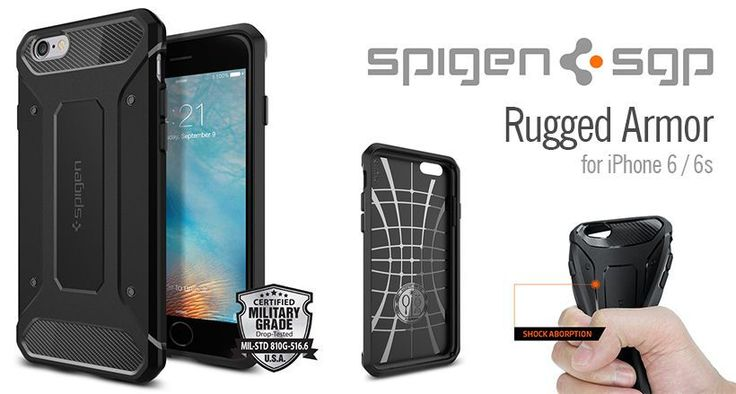 Rugged Armor iPhone 6s/6 tok - Smart Clinic
