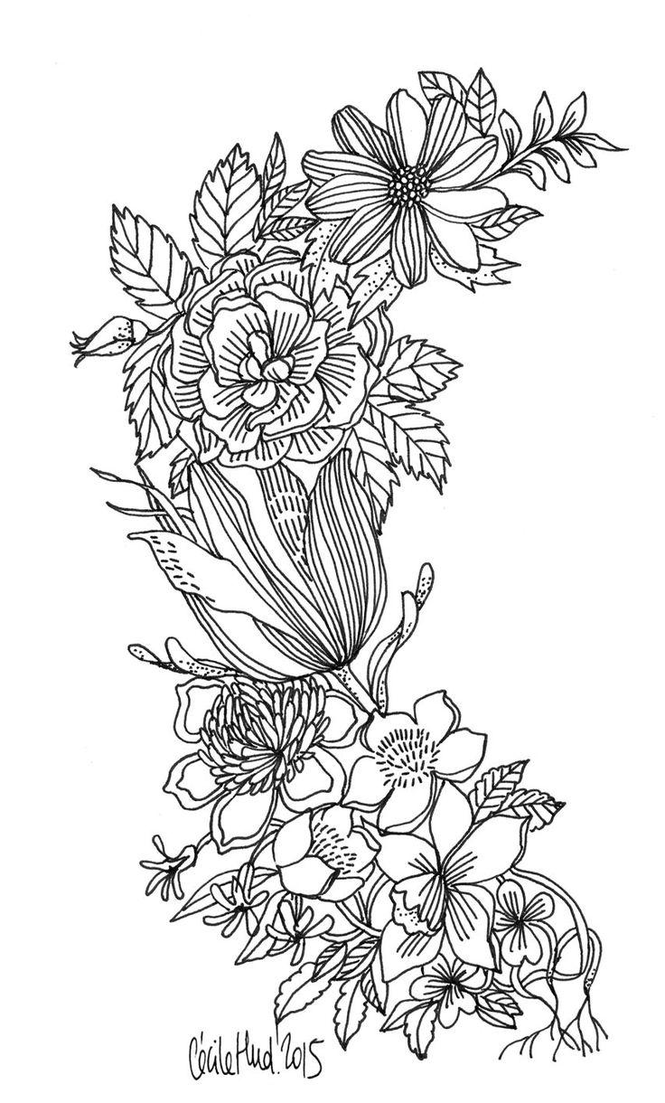 floral, Cécile Hudrisier