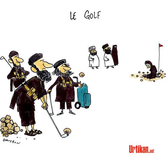 Les Jeux olympiques de l'état islamique – Jour 5 - Dessin du jour - Urtikan.net