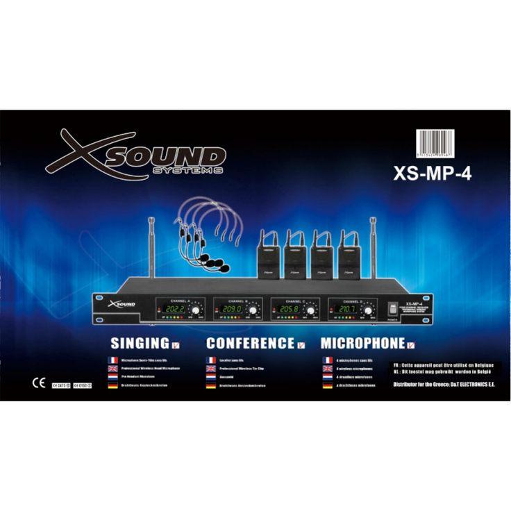 4 ΑΣΥΡΜΑΤΑ ΜΙΚΡΟΦΩΝΑ ΠΕΤΟΥ & ΤΕΤΡΑΠΛΟΣ ΔΕΚΤΗΣ 119,00 € #microphone