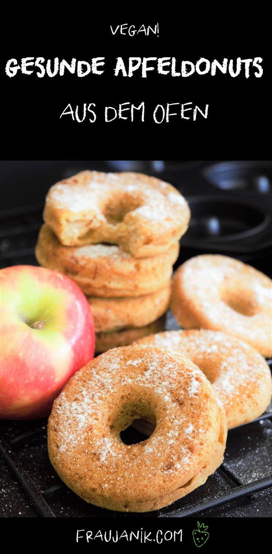 gesunde apfelkrapfen | Apfelkuchen aus dem Ofen – Frau Janik   – Lecker! (süß)