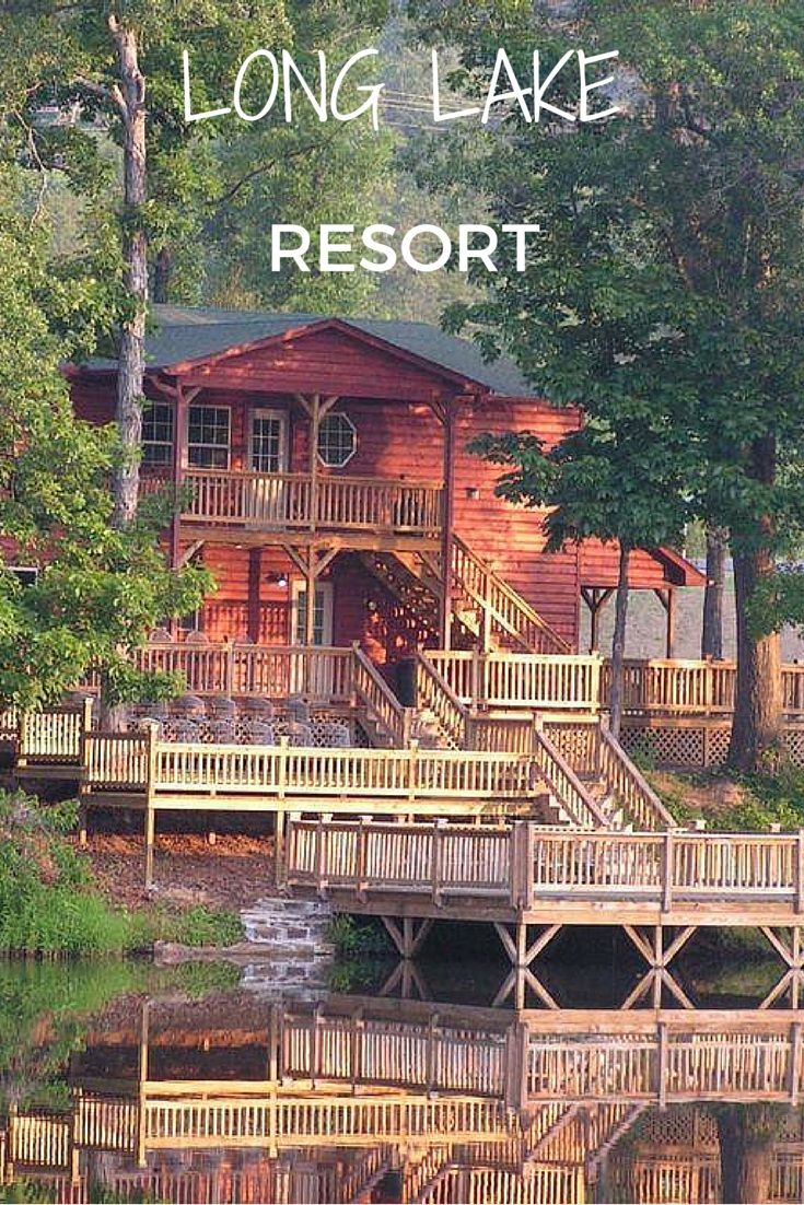 Located In Poteau The Long Lake Resort Is A Beautiful Place To Rent Cabin