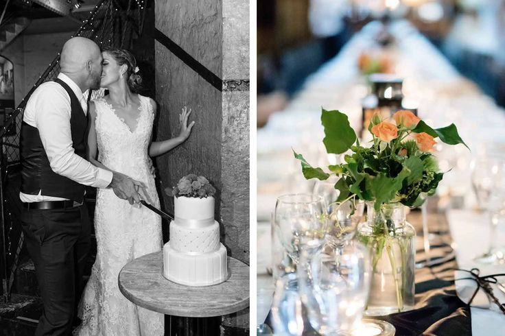 Old Melbourne Gaol Real Wedding | Cnk Catering