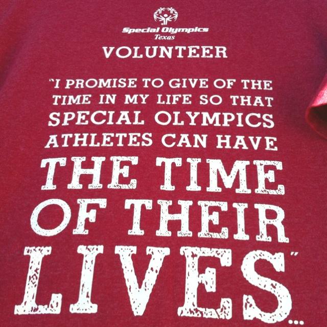 Special Olympics!