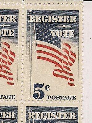 5 cent US Postage Stamps