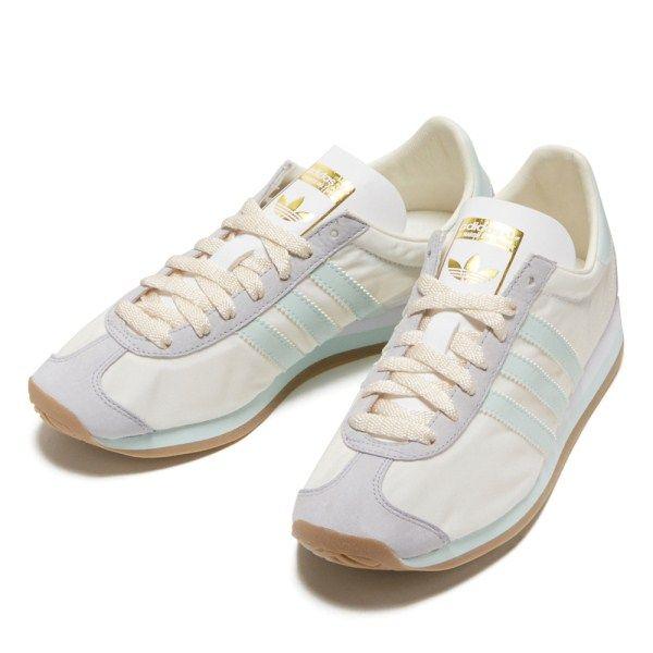 レディース 【ADIDAS】 アディダスオリジナルス CNTRY OG W カントリー OG W S32202 16FA ABC-MART限定 WHT/V GRN /GUM通販 | ABC-MARTオンラインストア 【公式】靴とスポーツウェアの通販