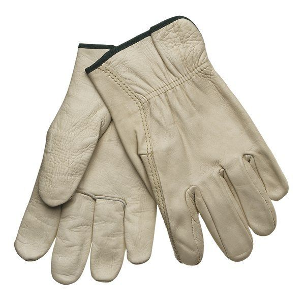 Jacob Ash Leather Work Gloves (For Men)