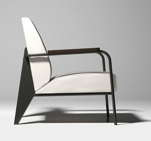 Jean Prouvé by G-Star Raw for Vitra  #design #minimalism #furniture