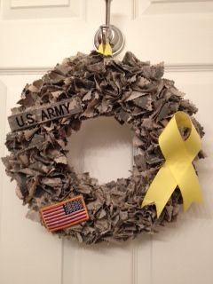 Awesome idea! ♥ it! This may be a potential gift for my military wife friend....if I can pull it off.