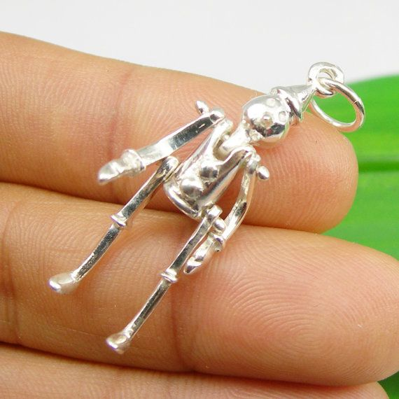 Movie Character Wizard Of OZ Tin Man Moveable by LQCJewellery