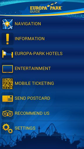 """With """"Europa-Park Guide"""", your visit in Germany's biggest theme park will turn into a new & unique experience! <p>""""Europa-Park Guide"""" offers following functions: <p>1. Map Navigator <br>Get your bearings inside Europa-Park thanks to GPS. A menu with different filters will allow you to display the places and information you chose: attractions, shows, restaurants, shopping or services (toilets, information desks, cash dispensers, etc.). A search function (GPS or text) will also help you to…"""