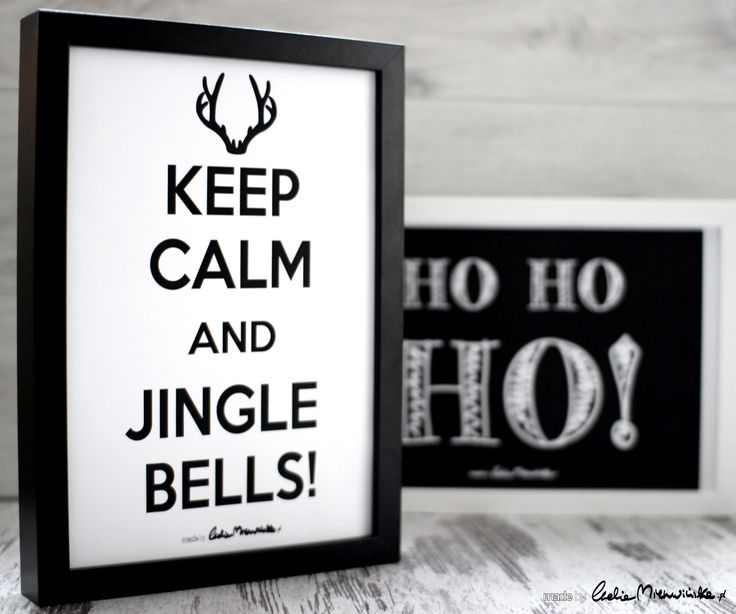 Keep Calm And Jingle Bells! Plakat do pobrania :)