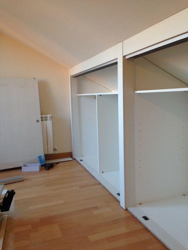 Las 25 mejores ideas sobre dormitorios abuhardillados en - Armarios para buhardillas ...